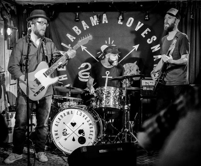 The Alabama Lovesnakes - 2018